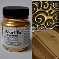 Пигменты высококачественные Перлекс Pearl Ex Перлекс (США) имитация металла, золото ацтеков 658, фото 1