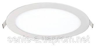Светодиодный врезной светильник 39171 LED-R-120-6 6W 6400К круглый белый IP20 Евросвет