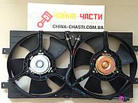 Вентилятор охлаждения в сборе (A15-1308010) Chery Amulet (A15) (Чери Амулет)
