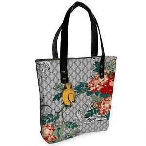 Женская сумка Bigbag с принтом Сад