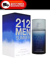 Мужская туалетная вода CAROLINA HERRERA 212 MEN SUMMER EDT 100 ML