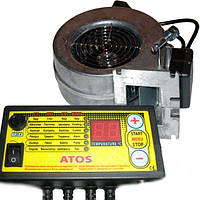 Комплект автоматики котла ATOS  + вентилятор WPA X2