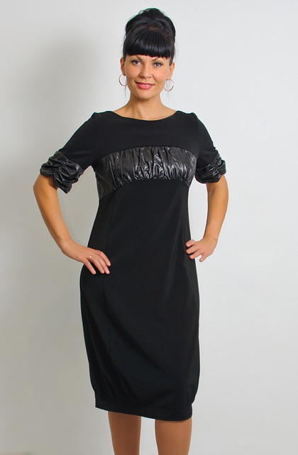 Платье женское для полной молодежи баллон батал ПЛ 094