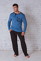 Пижама мужская джинс 702
