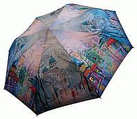Женский зонт Zest Картина с городом (полный автомат) арт. 23945-42