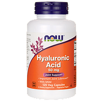 Молодость кожи и суставов - Гиалуроновая кислота с МСМ / Hyaluronic Acid With MSM, 120 капсул