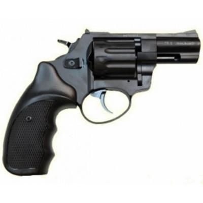 """Револьверы Stalker под 4мм патрон Флобера. Револьвер Stalker 2.5"""" чёрный матовый / чёрная рукоять"""