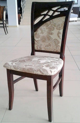 Стул обеденный деревянный Бордо-2  Fusion Furniture, цвет  орех, фото 2