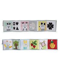 Мягкая книжка Taf Toys Книжка-раскладушка Мышки-Мартышки 12025