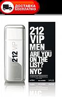 Мужская туалетная вода CAROLINA HERRERA 212 VIP ARE YOU ON THE LIST? MEN EDT 100ML