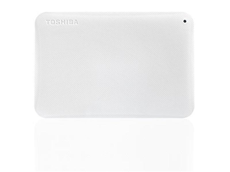 "Внешний жесткий диск HDD ext 2.5"" USB 2.0TB Toshiba Canvio Ready White (HDTP220EW3CA)"