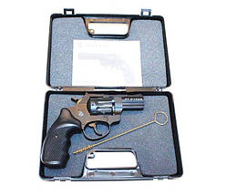 """Револьверы Stalker под 4мм патрон Флобера. Револьвер Stalker 2.5"""" чёрный матовый / чёрная рукоять, фото 2"""