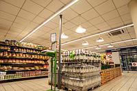 Светодиодные светильники для супермаркетов, складских и логистических комплексов, промышленных цехов