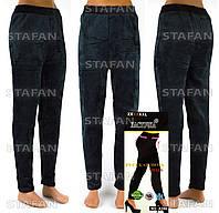 Велюровые женские штаны на меху Nailali A350-R