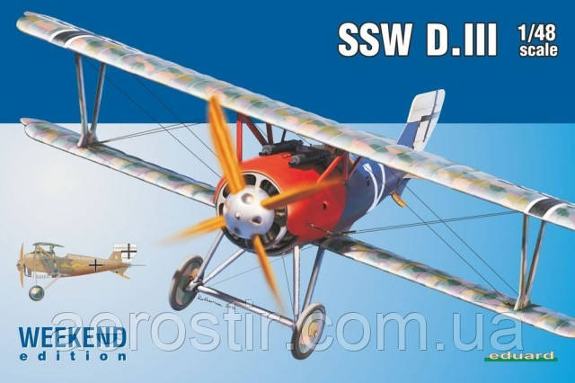 SSW D.III 1/48 EDUARD 8484
