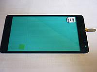 Тачскрин для Microsoft 535 Lumia Dual Sim (RM-1090) (CT2S1973FPC-A1-E), черный, оригинал (Китай)