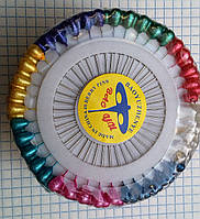Булавка капелька разноцветная 480 шт.