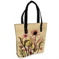 Женская сумка Bigbag с принтом Букет