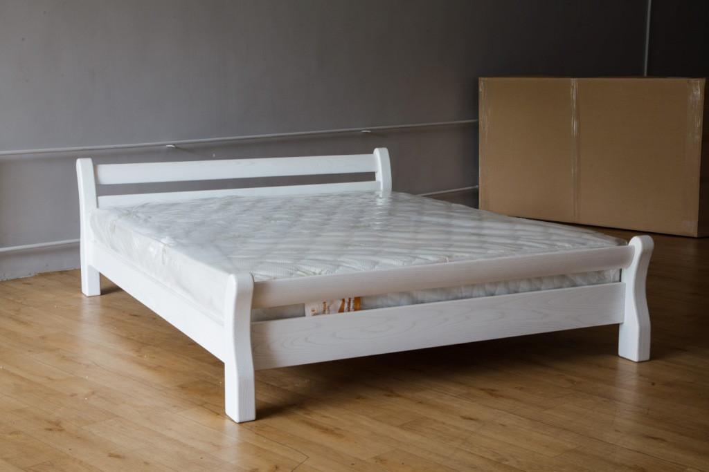 """Кровать Монреаль (белая) (Ясень) - Мебельный """"Центр"""" в Черновцах"""