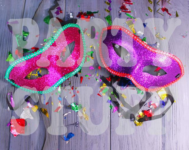 маски новогодние