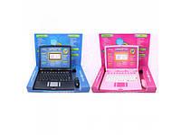 Детский компьютер Joy Toy 7160-61  обучающий, русско-английский, с мышкой