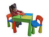 Комплект дитячих меблів Tega Baby Mamut стіл + 2 стільці (оранжевий із зеленим), фото 6