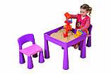 Комплект дитячих меблів Tega Baby Mamut стіл + 2 стільці (оранжевий із зеленим), фото 9