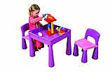 Комплект дитячих меблів Tega Baby Mamut стіл + 2 стільці (оранжевий із зеленим), фото 10