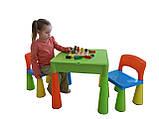 Комплект дитячих меблів Tega Baby Mamut стіл + 2 стільці (оранжевий із зеленим), фото 8