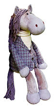 Мягкая игрушка «Orange» (3008/20) конь в пальто Аркадий, 32 см