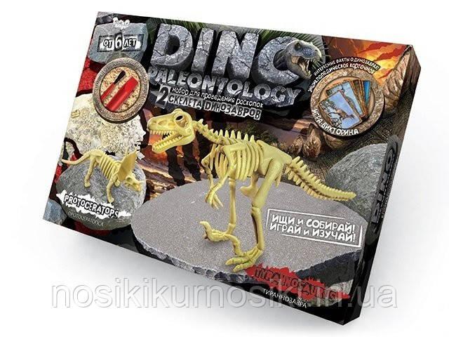 Набір для юного палеонтолога Динозаври розкопки DP-01-03