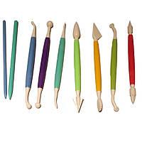 Набор ножиков (стеков) для мастики 9 пред. EM-8628