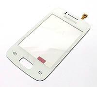 Тачскрин для Samsung S6102 Galaxy Y Duos белый (проклейка)