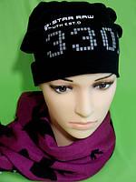 Модная шапка женская