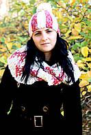 Купить женский комплект шапки - шарфика