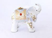 Статуэтка Слоник белого цвета