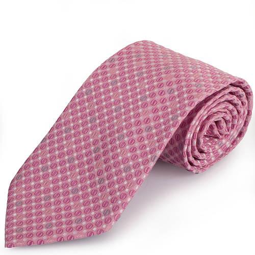 Яркий мужской широкий галстук SCHONAU & HOUCKEN (ШЕНАУ & ХОЙКЕН) FAREPS-39 розовый