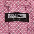Яркий мужской широкий галстук SCHONAU & HOUCKEN (ШЕНАУ & ХОЙКЕН) FAREPS-39 розовый, фото 3