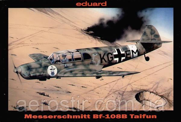 Messerschmitt Bf-108B Taifun 1/48 EDUARD 8052