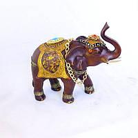 Декоративная статуэтка Слон с цепью
