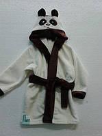 Детский халат панда