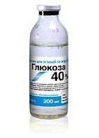 Глюкоза 40% 200 мл