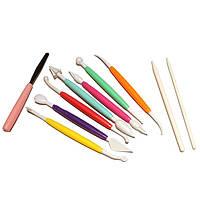 Набор ножиков (стеков) для мастики 10 пред. EM-8633