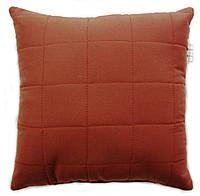 Подушка декоративна, Бордовый КВАДРАТ