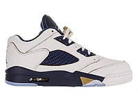 Баскетбольные кроссовки Air Jordan V Retro Low White - 1480