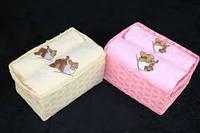 Кухонное полотенце ARYA ELEPHANT 2 шт. (розовое, кремовое)
