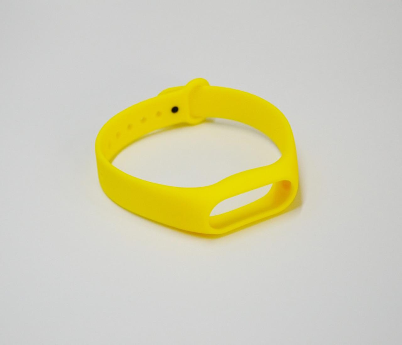 Ремешок для браслета Xiaomi Mi Band 2 (Yellow)