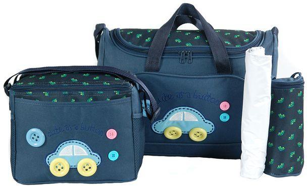 Компактний набір сумок для мам Traum 7010-02