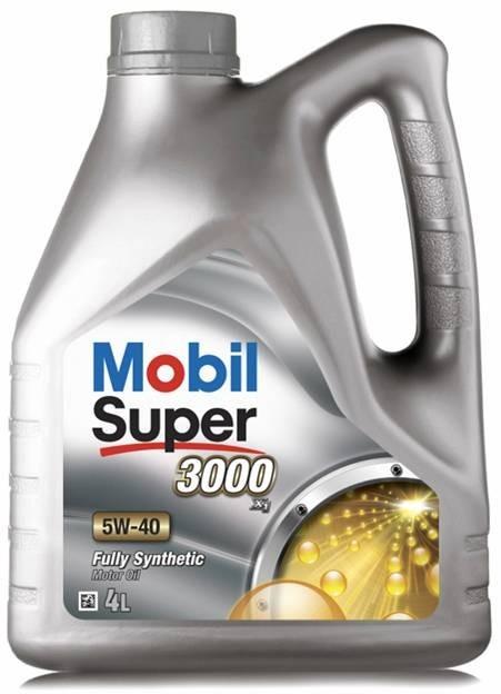 Моторное масло Mobil Super 5W-40 ✔ емкость 4л. - Автокар в Киеве