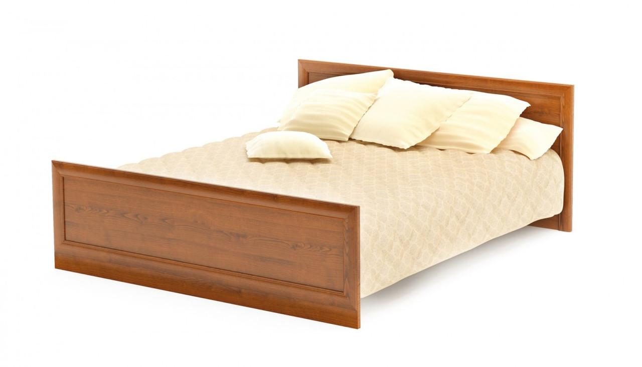 Кровать двуспальная Даллас вишня Мебель-сервис